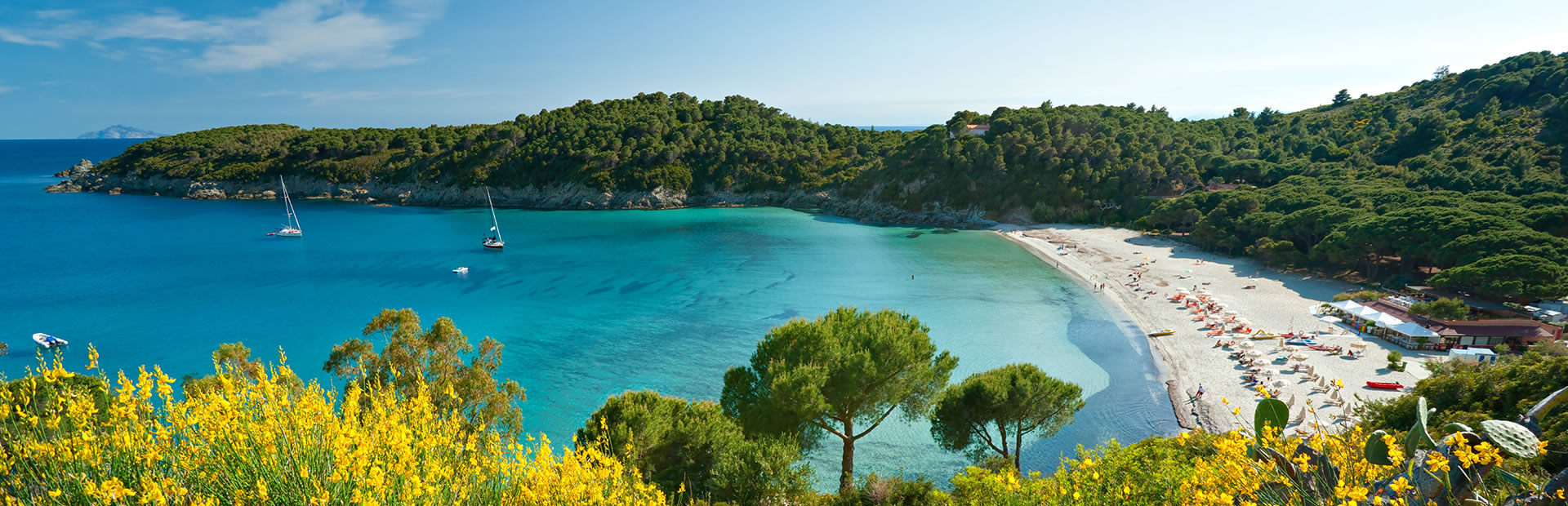 Beaches on southern side Visit Elba